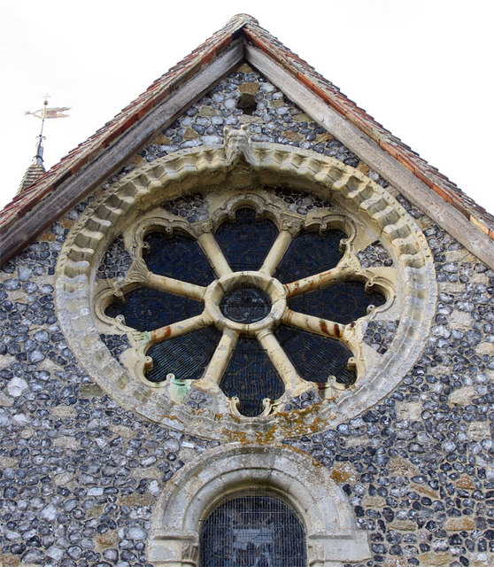 St Mary, Patrixbourne, Kent - Window