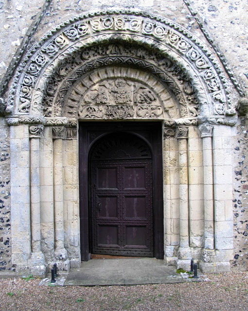 St Mary, Patrixbourne, Kent - Doorway