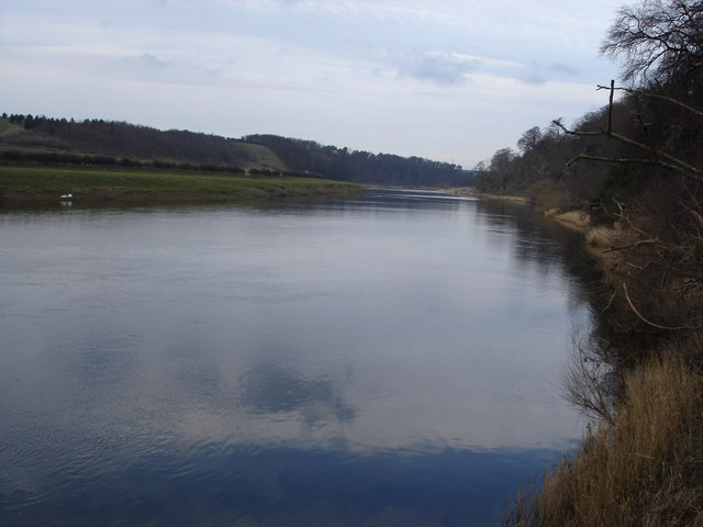 River Tweed north of Norham Castle