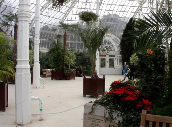 Sefton Park Palmhouse interior