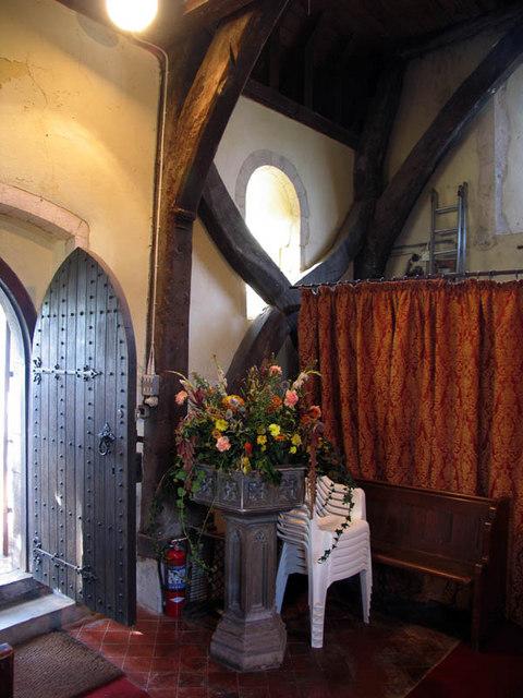 St Mary, Stodmarsh, Kent - Interior