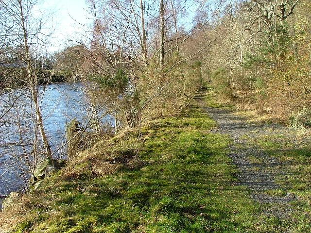 Footpath to Kinloch Rannoch