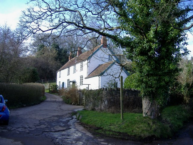 White cottage, Lower Failand