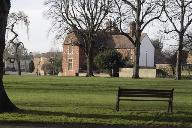 Village green, Cottenham, Cambridgeshire