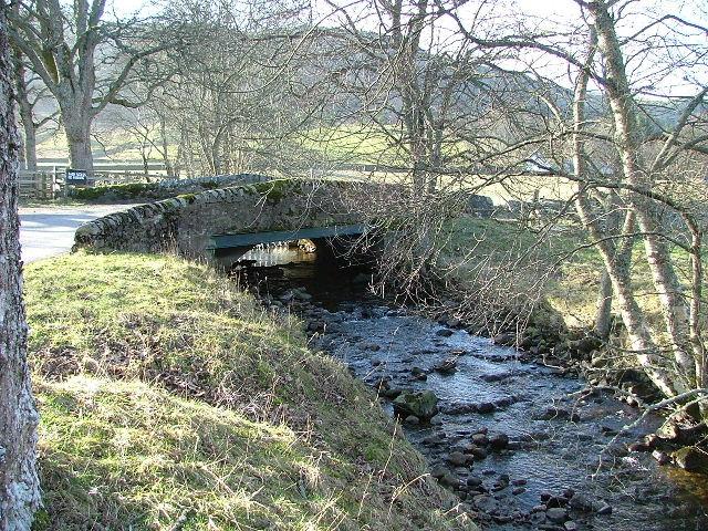 Bridge over the Tempar Burn