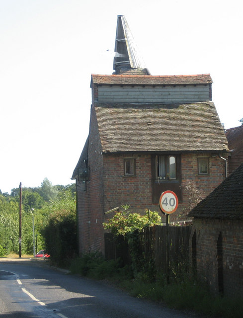 Bull Farm Oast, Glassenbury Road, Hartley, Cranbrook, Kent