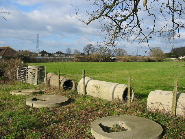 Pipes, Pasture, and Pylons Longham Dorset