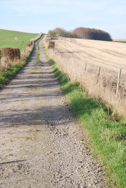 Track across the down