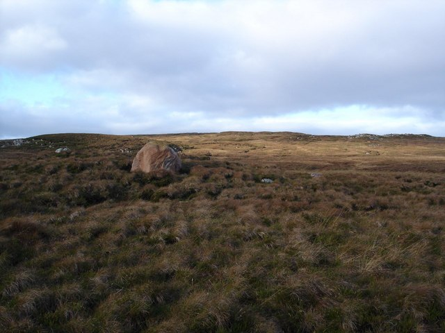 Erratic on the moorland