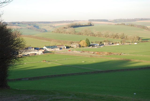 View of Elcombe Farm