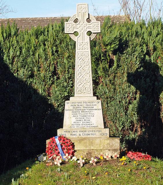 Tickton War Memorial