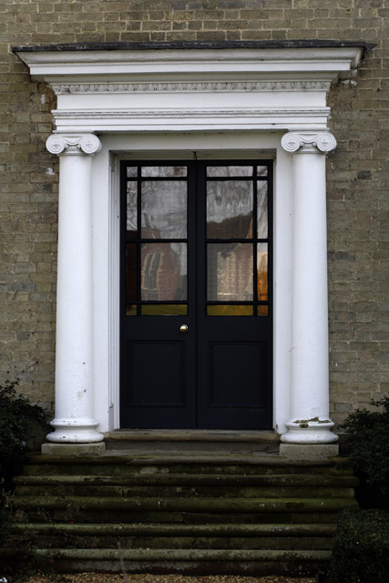 Door detail, 343 High Street, Cottenham, Cambridgeshire