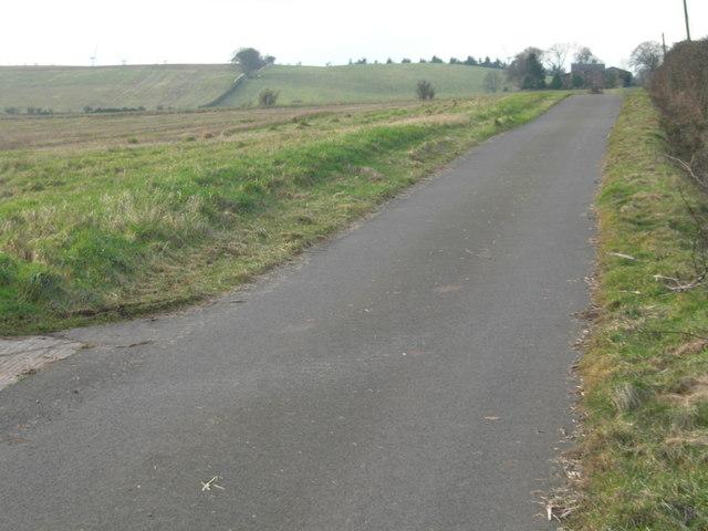 Road to Knock farm