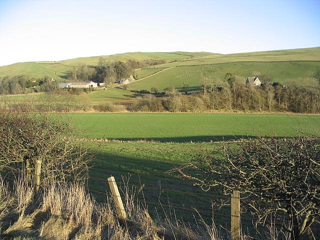 Farmland at Broadhaugh