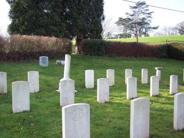 Cemetery at Compton Chamberlayne