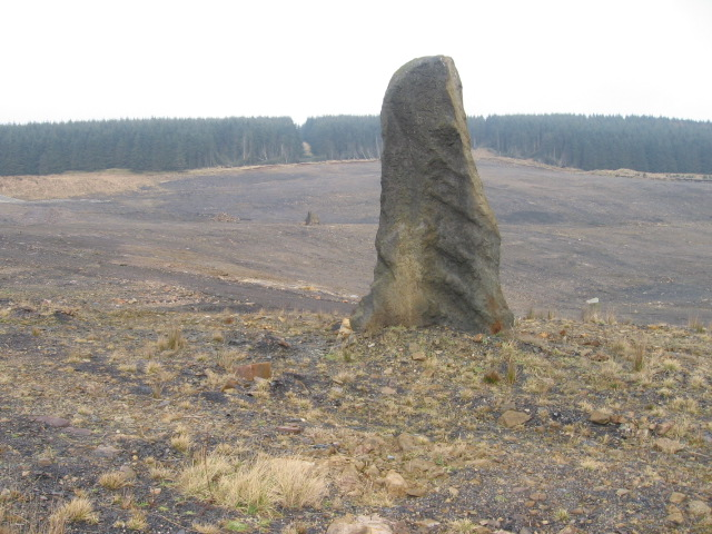 Old opencast site at Glenbuck