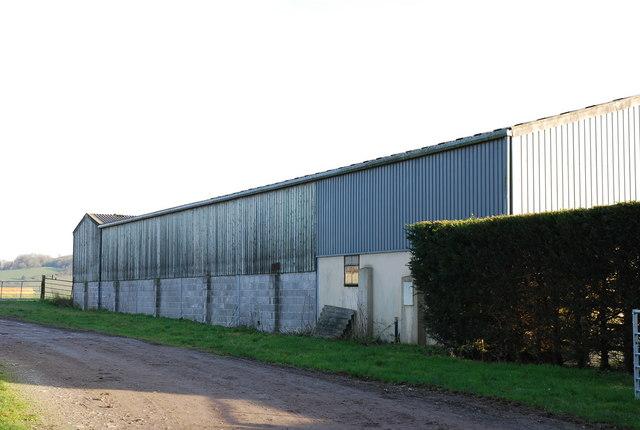 Barn on Elcombe Farm