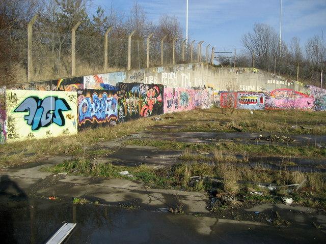 Waste Ground off Howdon Road