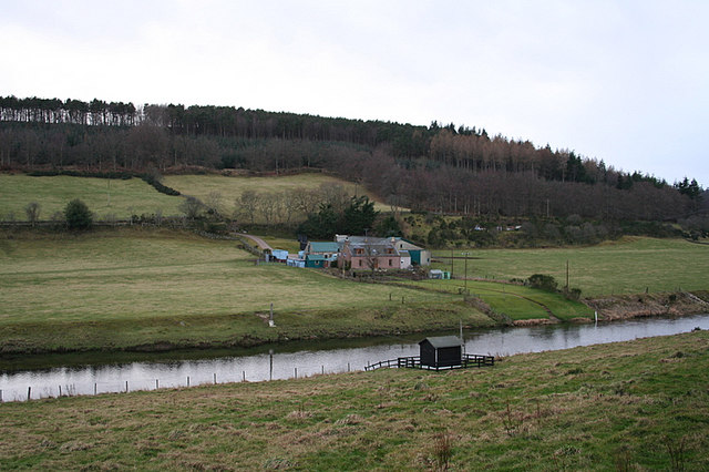 Dwelling of Haughton on the Don's south bank.