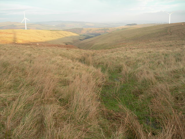 Valley leading to Kidshielhaugh