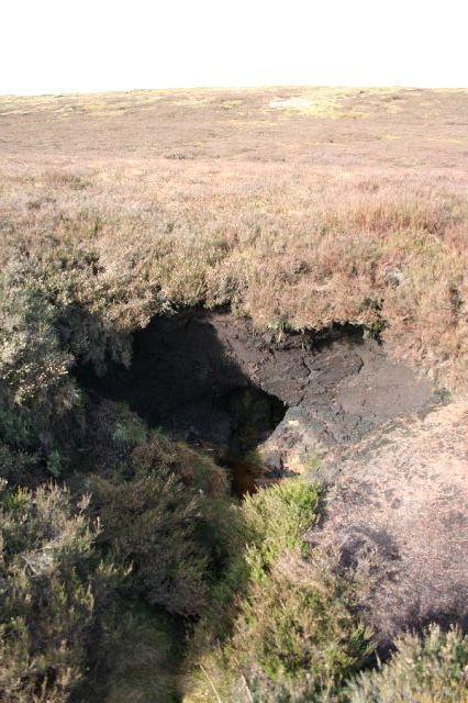 """Peat """"cave"""""""