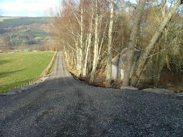 Newly made Farm Road
