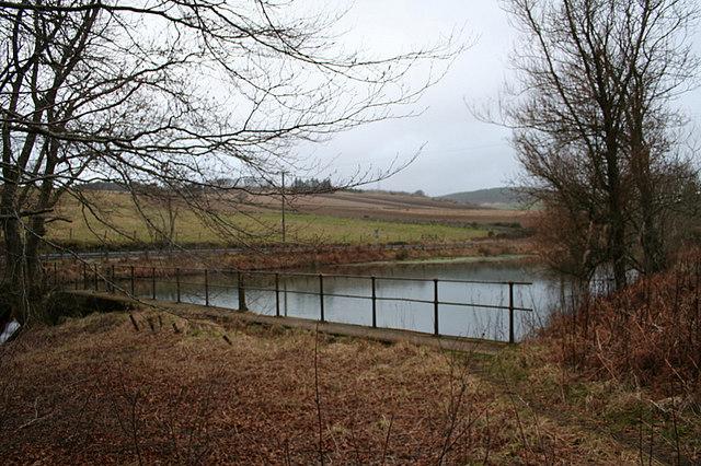 Polinar  Dam on Donside.