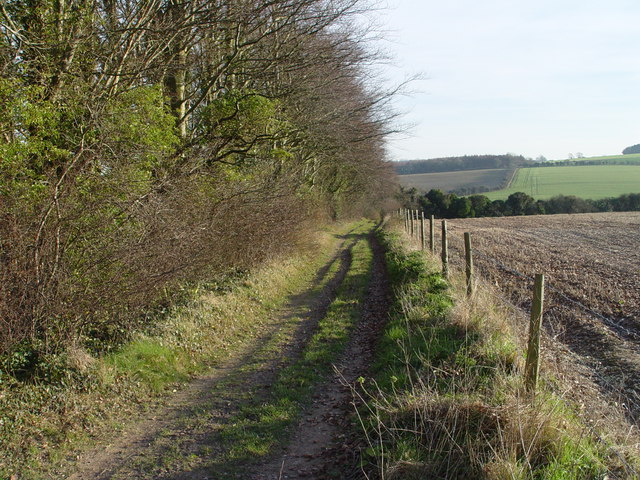 Bridleway towards Rendezvous Plantation
