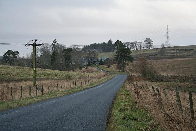 Southwards towards Newseat.