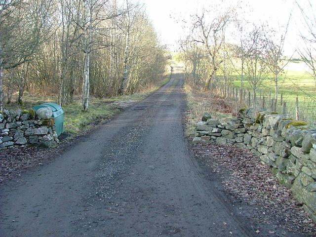 Farm Track to Errichel