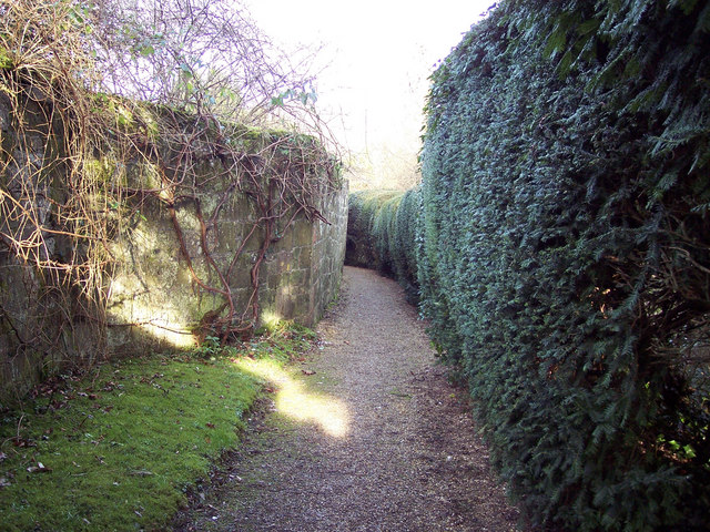 Path to St Michaels Church