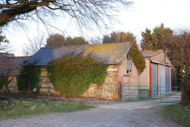 Cleeves Farm outbuildings