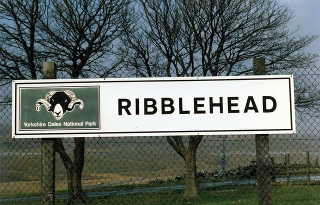 Ribblehead Station sign