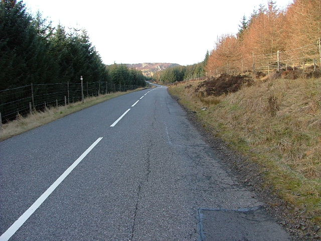 A826 Going Northwest through Cochill Forest