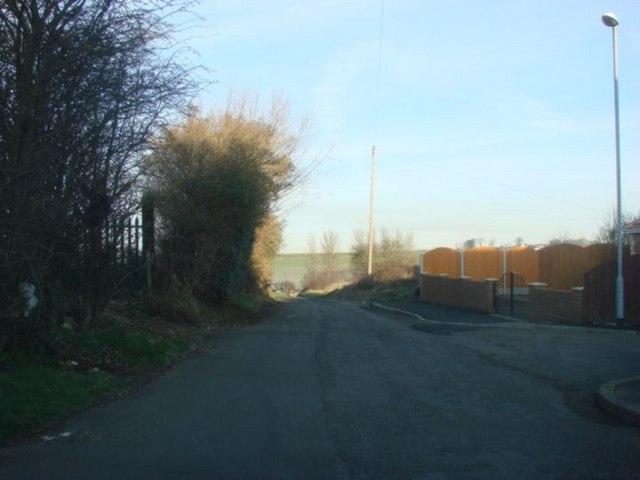 View from Albert Street, Upper Cudworth to Three Nooks Junction