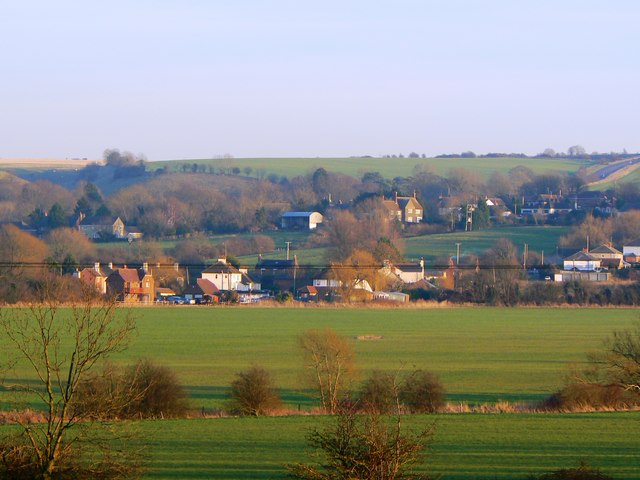 Liddington viewed from the Great Western Hospital, Swindon