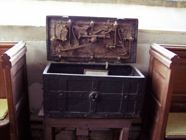 Iron Chest in St Michaels Church