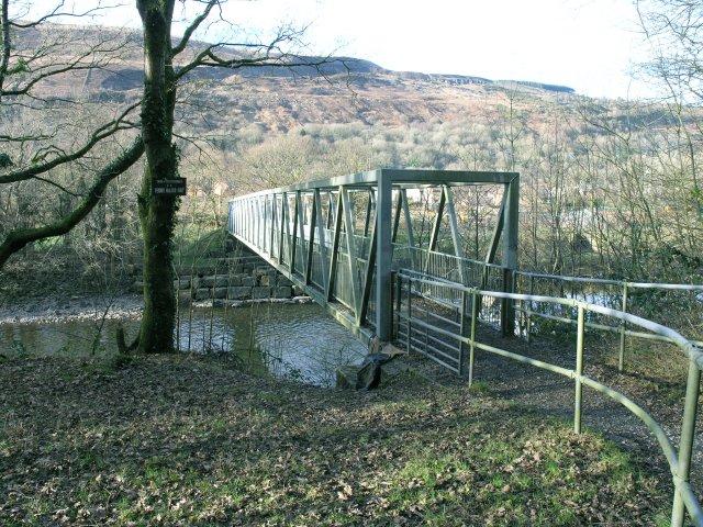 Cycle track bridge