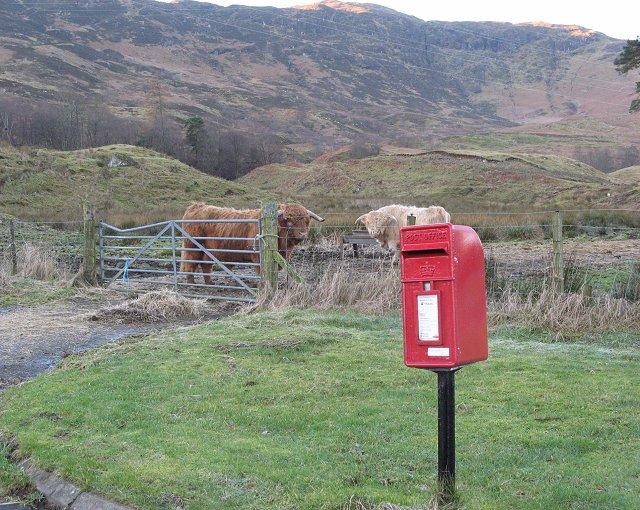 Post box, Suie Lodge