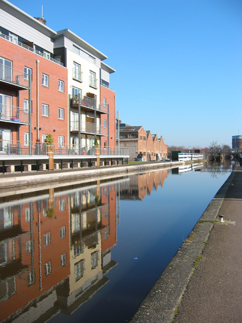 Reflections in the Shropshire Union Canal