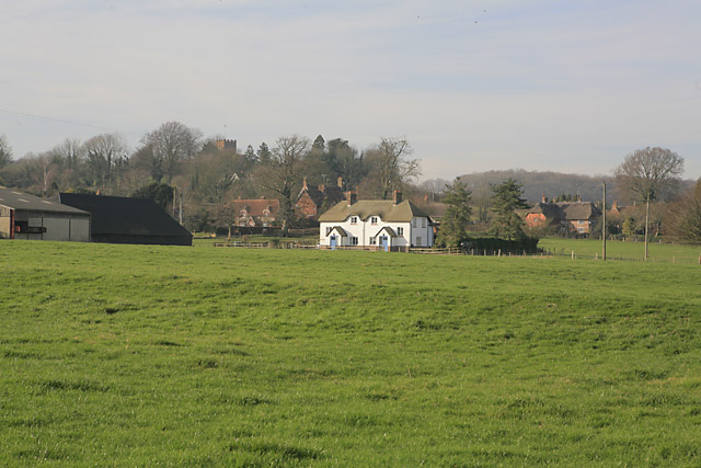 Approaching Tichborne from the south