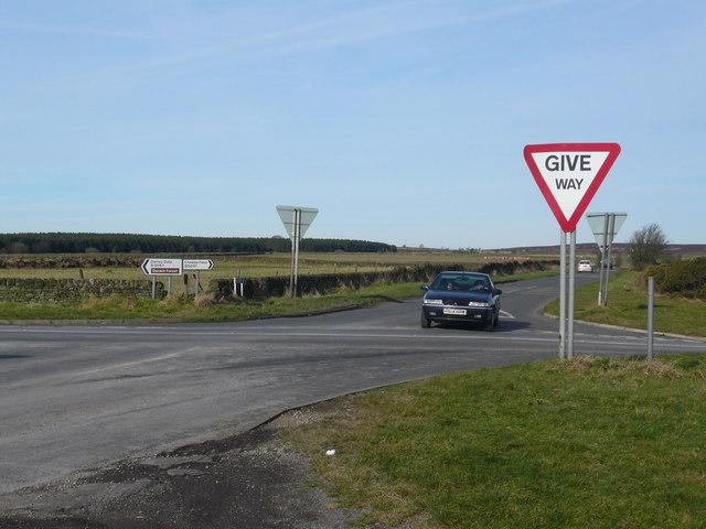 Road to Beeley Moor