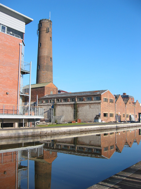 Shot tower and former leadworks, Boughton