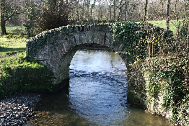 Old Bridge over the River Kensey
