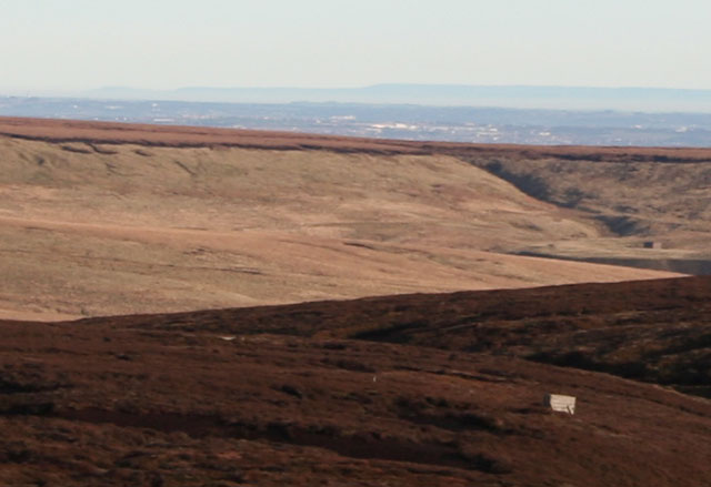 Black Hambleton from Bleaklow, Peak District