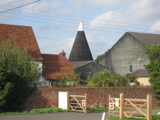 Oast at Congelow Farm, Benover Road, Yalding, Kent