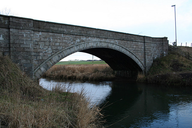 Howford Bridge over the River Urie.
