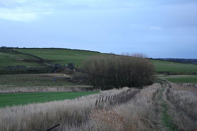 Track to Portstown Farm.