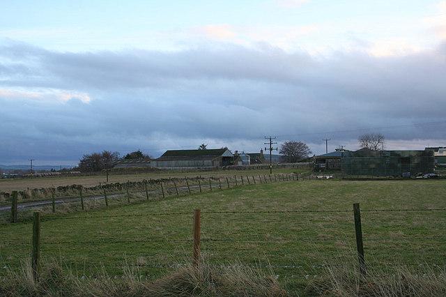 The Balhalgardy Farm.