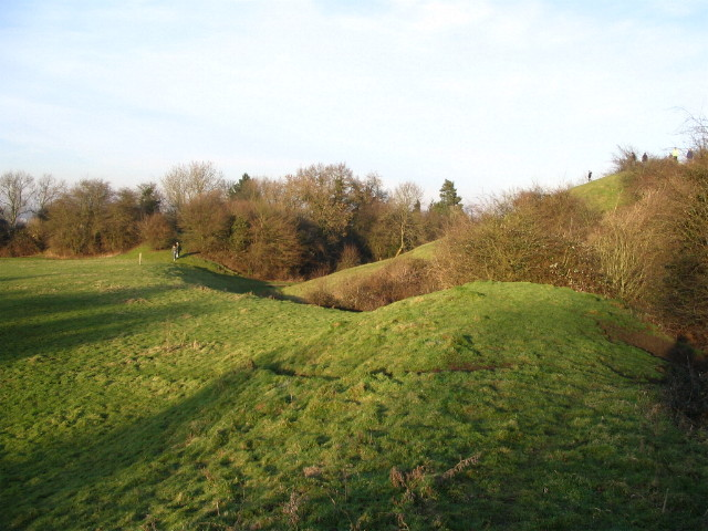Motte and bailey, Brinklow